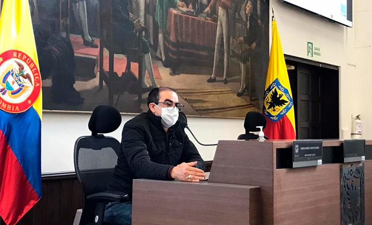 Debate sobre movilidad sostenible en el Concejo de Bogotá