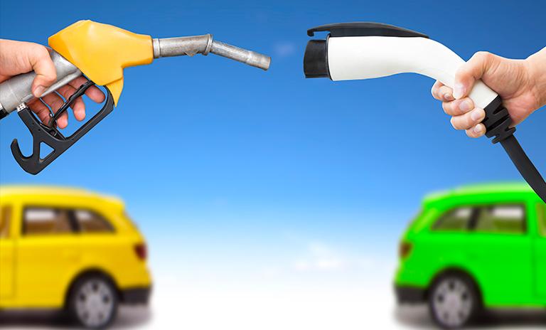 La eficiencia de los motores eléctricos es superior