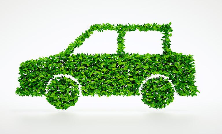 Auto verde para la movilidad sostenible