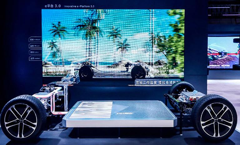 Nueva plataforma electrónica 3.0 de los carros eléctricos BYD