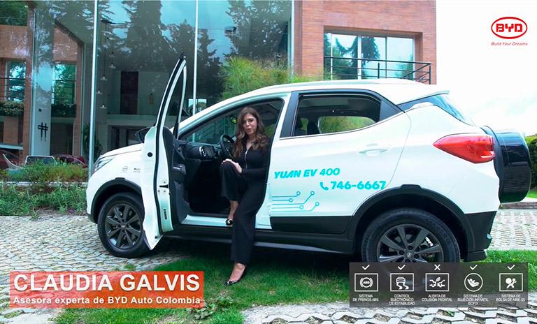 Claudia Galvis asesora experta BYD