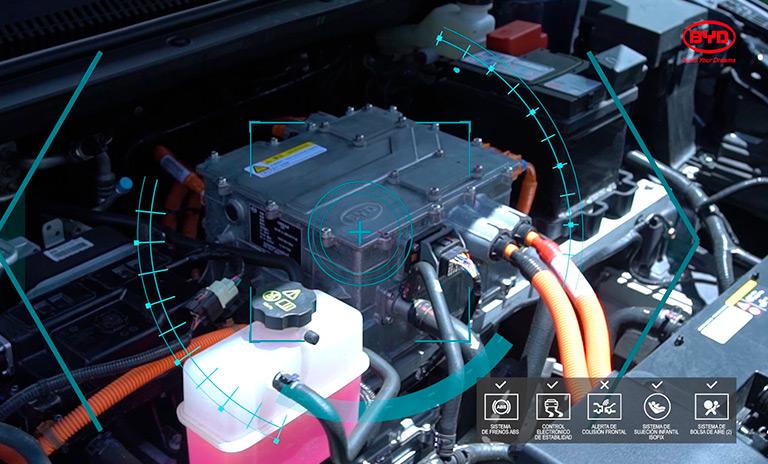 Baterías eléctricas NCM de BYD