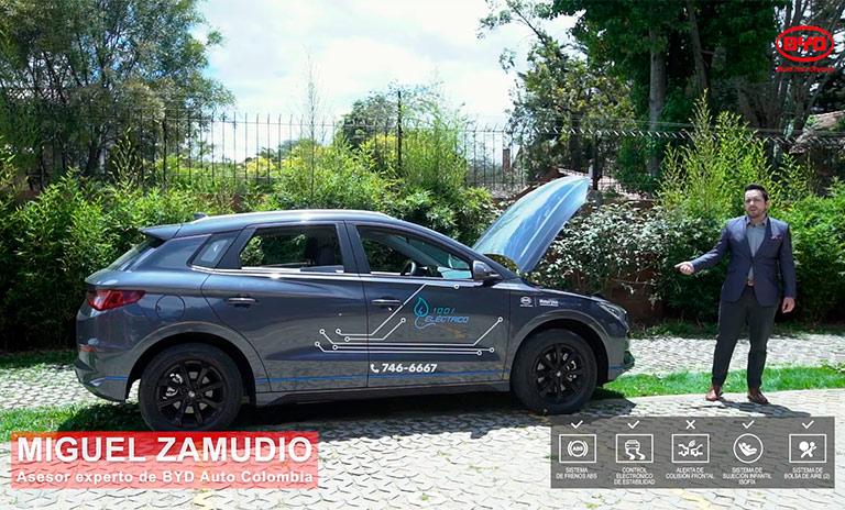 Carros eléctricos BYD Yuan 400