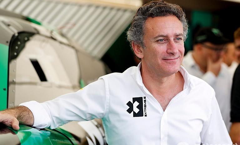 Alejandro Agag, presidente de la fórmula E