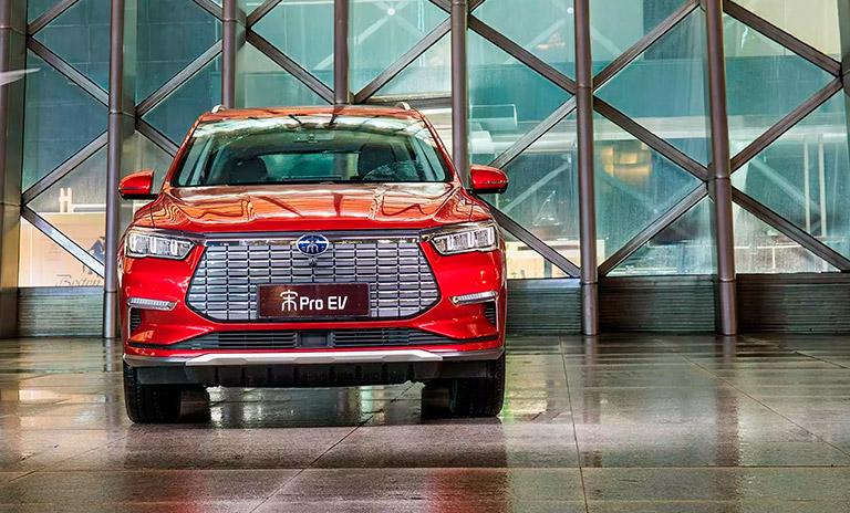 Song Pro EV un vehículo para la movilidad sostenible