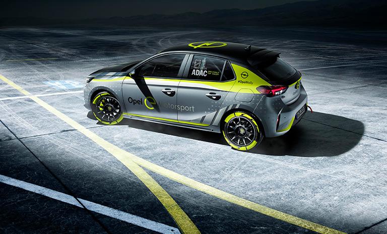 Vehículo eléctrico de la copa e Rally