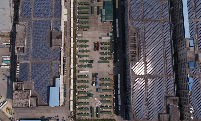 Parque Solar en el innovador Campus Industrial Cero Carbono