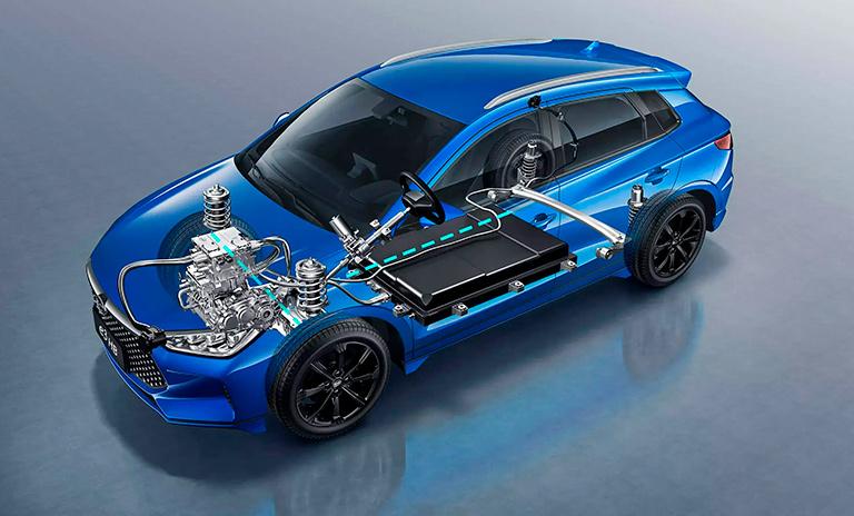 Anatomía de los carros eléctricos e3 HB