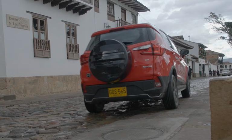 Carros eléctricos Yuan 400 en Villa de Leyva