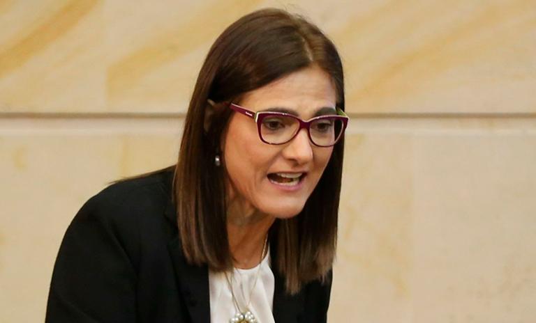 Ángela María Orozco, Ministra de Transporte